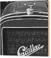 1907 Cadillac Model M Touring Grille Emblem Wood Print by Jill Reger