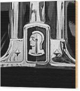 1948 Pontiac Streamliner Woodie Station Wagon Emblem Wood Print by Jill Reger