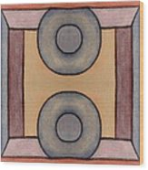 Abstract 223 Wood Print by Patrick J Murphy