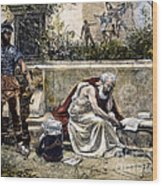 Archimedes  Wood Print by Granger
