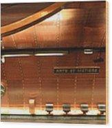 Arts Et Metiers Metro Wood Print by A Morddel