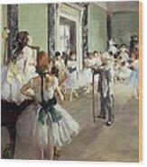 Degas, Edgar 1834-1917. The Dancing Wood Print by Everett