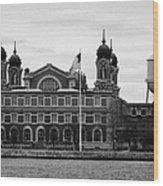 Ellis Island New York City Wood Print by Joe Fox