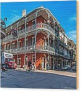French Quarter Afternoon Wood Print by Steve Harrington