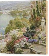 Lake Maggiore Wood Print by Ebenezer Wake-Cook