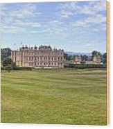 Longleat House - Wiltshire Wood Print by Joana Kruse