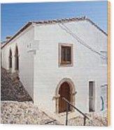 Medieval Sephardi Synagogue Wood Print by Jose Elias - Sofia Pereira
