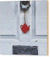 Old Door Wood Print by Joana Kruse