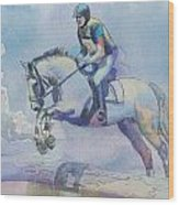 Polo Art Wood Print by Catf