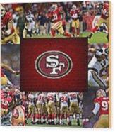 San Francisco 49ers Wood Print by Joe Hamilton