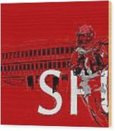 Sfu Art Wood Print by Catf