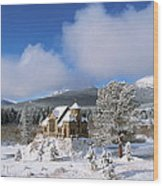 The Chapel On The Rock I Wood Print by Eric Glaser
