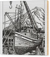 Will Fish Again Another Day Wood Print by Jack Pumphrey