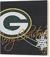 Green Bay Packers Wood Print by Joe Hamilton