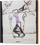 Dinka Dance - South Sudan Wood Print by Gloria Ssali