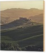 Tuscany - Val D'orcia Wood Print by Joana Kruse