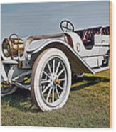 1910 Franklin Type H Touring Wood Print by Marcia Colelli