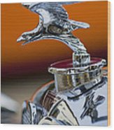 1932 Alvis Hood Ornament 2 Wood Print by Jill Reger