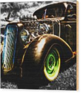 1936 Chevrolet Sedan Wood Print by Phil 'motography' Clark
