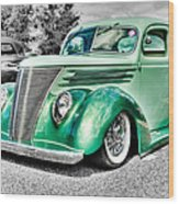 1937 Ford Coupe Wood Print by Phil 'motography' Clark