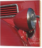 1941 Ford Flatbed Pickup Wood Print by Anna Lisa Yoder