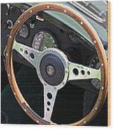 1952 Jaguar Xk120 Roadster 5d22971 Wood Print by Wingsdomain Art and Photography
