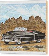 1953 Cadillac Eldorado Biarritz Wood Print by Jack Pumphrey
