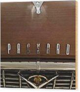 1955 Packard 400 Hood Ornament Wood Print by Jill Reger