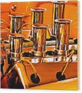 1956 Chrysler Hot Rod Wood Print by Jill Reger