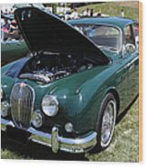 1962 Jaguar Mark II 5d23332 Wood Print by Wingsdomain Art and Photography
