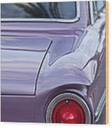 1963 Ford Falcon Tail Light Wood Print by Jill Reger