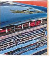 1963 Ford Galaxie 500xl Taillight Emblem Wood Print by Jill Reger
