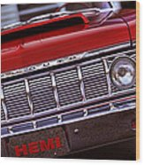 1964 Plymouth Savoy Wood Print by Gordon Dean II