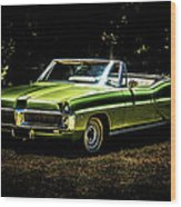1967 Pontiac Bonneville Wood Print by motography aka Phil Clark