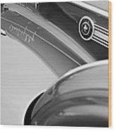 1941 Packard 1907 Custom Eight One-eighty Lebaron Sport Brougham Side Emblems Wood Print by Jill Reger