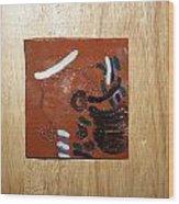 Bella - Tile Wood Print by Gloria Ssali