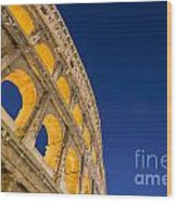 Colosseum Wood Print by Mats Silvan
