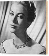 Grace Kelly Wood Print by Silver Screen