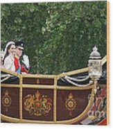 Royal Wedding Wood Print by Mariusz Czajkowski