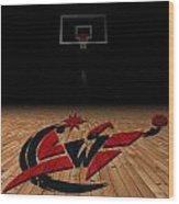 Washington Wizards Wood Print by Joe Hamilton