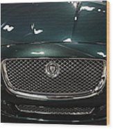 2013 Jaguar Xj Range - 5d20263 Wood Print by Wingsdomain Art and Photography