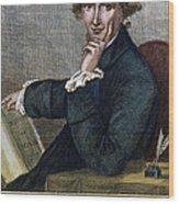 Thomas Paine (1737-1809) Wood Print by Granger