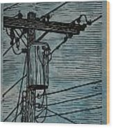 Transformer Wood Print by William Cauthern