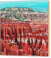 Canyon Wood Print by Ernesto Cinquepalmi