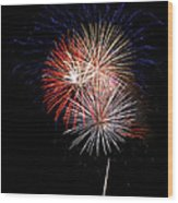 4th Of July 7 Wood Print by Marilyn Hunt