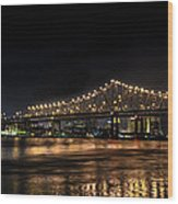 4th Of July In The Big Easy Wood Print by David Morefield