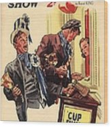1930s,uk,the Passing Show,magazine Cover Wood Print by The Advertising Archives