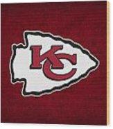 Kansas City Chiefs Wood Print by Joe Hamilton