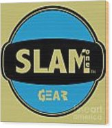 Slam One Gear Wood Print by James Eye
