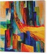 911 Revisited Wood Print by Larry Martin
